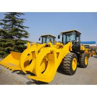 China ISO 9000 Certified Heavy Equipment Dump Truck 5 Ton Wheel Loader With Wood Grab wholesale