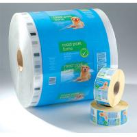 China PET laminated LDPE Printed Laminating Film Roll , Moisture Proof Good Barrier Plastic Film Rolls wholesale