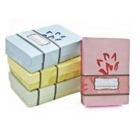 China Atrractive Gift Box Packaging Recycle Pink Art Paper For Regular Soap wholesale