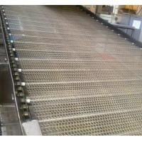 China Spiral Metal Ss Wire Mesh Conveyor , Flat Wire Conveyor Belt Anti - Corrosion wholesale