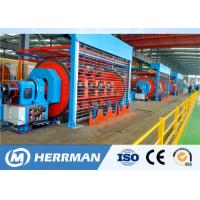China Independent Drive Rigid Frame Strander Cable Equipment For Copper / Aluminum Conductor wholesale