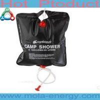China 2014 New Solar Shower Bag With Spout wholesale