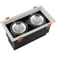 China Retrofit Recessed Cob Led Ceiling Downlights , Waterproof Twins LED Spot Downlights wholesale