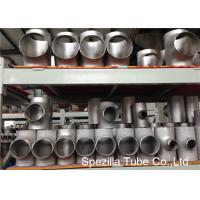 China SS Pipe Fittings 1/2'' - 24''  Straight Tee , Butt Weld Stainless Steel Pipe Fittings wholesale