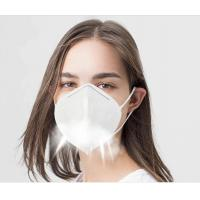 China Disposable Non Woven KN95 Face Mask Foldable For Dusty Operations wholesale