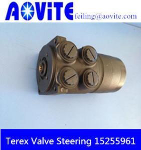 China Original Terex TR100 hydraulic steering valve 15255961 on sale