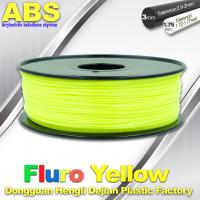 China Fluorescent ABS 3d Printer Filament ABS 3D Printing Material For Desktop Printer wholesale