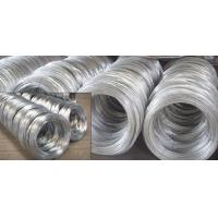 China SAE1006B, SAE1008B, SAE1010B BWG Hot Dipped Galvanized Wire Rod of Mild Steel Products wholesale