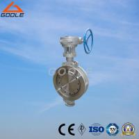 China 150lb/300lb Stainless Steel Gear Operated Wafer Type Butterfly Valve (GAD373W) on sale