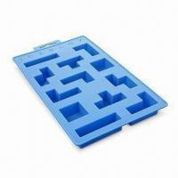 China Ice Cube Tray, Made of High-quality Silicone, FDA and LFGB Approved, OEM Designs Welcomed wholesale