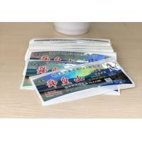 China Anti Dirty Security Hologram Stickers Multi Color For Attractions Tickets wholesale