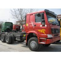 China 6x4 Prime Mover Truck / 10 Wheeler Tractor Head Truck With Right Hand Driver wholesale