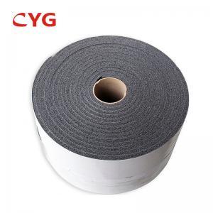 China Aluminum Foil Closed Cell Spray Polyethylene Foam Insulation Adhesive Backed wholesale