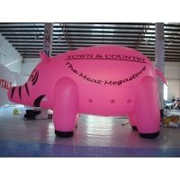 China Inflatable Lighting 3 Meters Custom Shaped Balloons 0.25mm PVC Material wholesale