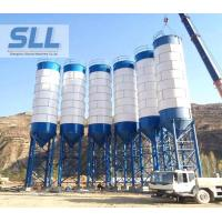 China Stationary Type Fly Ash Storage Silo For Concrete Mixing Plant 3-10T wholesale