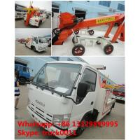 China 2017s new iSUZU 3tons road wrecker tow truck for sale, best price high quality ISUZU brand breakdown vehicle for sale wholesale