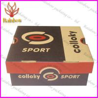 China Corrugated Gift Paper Box Packaging Custom With White Cardboard wholesale