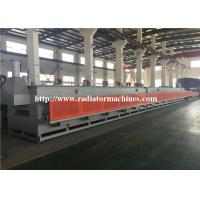 China GAS 1200 KG/H Mesh Belt Furnace Tempering Treatment For 8 KG COIL SPRING wholesale