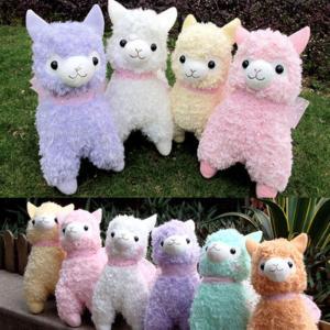 China Cute Lovely Animal Alpaca Vicugna Pacos Lama Arpakasso Alpacasso Soft Stuffed Plush Doll wholesale