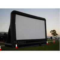 China Open Air Inflatable Movie Screen Double Stitching AC 110V / 220V Supply Voltage wholesale