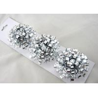 Quality Silver Green Yellow Hand made Fancy Bows for Gift packing and Christmas for sale