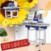 China Free shipping cheapest single head computer embroidery machine price 360*1200mm hat t-shirt flat 3d embroidery machine f on sale