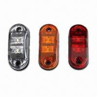 China LED Trailer Lights with 12V Input Voltage, Available in Red wholesale