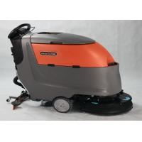 China Automatic Compact Floor Scrubber Machine With Multiple Water Injectors wholesale