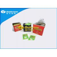 China Twinings / Lipton Envelope Tea Bags With String And Tags High Performance wholesale