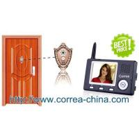 China Home Security Wireless Peephole Viewer Video Doorphone Intercom with 3.5 inch TFT wholesale