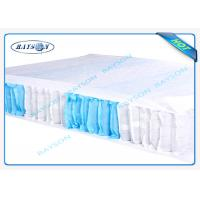 China Tear - Resistant 70gr Width 53cm Pp Non Woven Fabric For Box Spring Cover wholesale