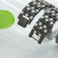 China New style black magnetic charm bracelet in stainless steel,5 in 1 bio magnet bracelet wholesale