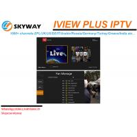 China Hot Selling HD LIVE IPTV including Arabic UK Russian Greece Channels wholesale