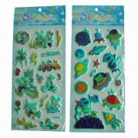 China Glow-in-dark luminous stickers, used for promotional gifts, advertisement and premiums, SGS standard  wholesale