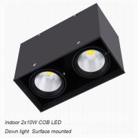 China Interior IP40 contemporary 20W COB LED downlight for shopping mall wholesale