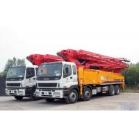 China Energy Saving Concrete Pump Truck Automatic Control 48m Boom ISO CCC wholesale