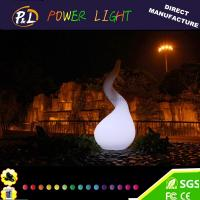 China Morden Indoor Outdoor Plastic Glowing LED Mood Lamp on sale