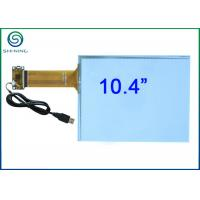China 10.4 Inch Capacitive Touch Panel / Capacitive Touch Sensor Bonded On Front Glass wholesale