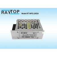 China LED Light Metal Cased Switching Mode Power Supply 24V 1A  CE RoHS FCC Approved wholesale