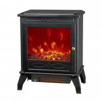 Buy cheap BIG FLAME WINDOW MIDDLE ELECTRIC STOVE ND-18D5P LED FIREPLACE PORTABLE HEATER from wholesalers