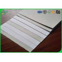 China Recycled material making white back coated board paper 350gsm duplex grey board wholesale