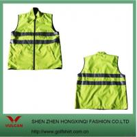 China Fluorescence Color Safety Men Vests wholesale