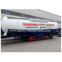 China Powder material transportation cement tanker trailer with volume with warranty and spare parts wholesale