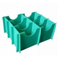China Green Heat Resistance Waterproof Plastic Divider Sheets Coroplast Divider Board wholesale