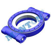 China Precise Worm Gear Slew Drive , Hydraulic Slew Drive Fit Solar Tracking System wholesale