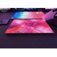 China Outdoor P8.928 full color led dance floor 1000mmX500m cabinet 3 years warranty wholesale