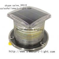 China Flash Solar navigation lights ASE-002 3-5km visible distance IP68 wholesale