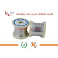 China Customized Thermocouple Bare Wire Tankii Alloy Flat / Ribbon Wire wholesale