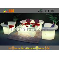 China Outdoor / Indoor Glowing Furniture LED Sofa For Club / Corporate Events wholesale