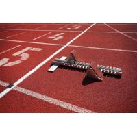 China All Weather EPDM , SBR Rubber Running Track Surface Customized on sale